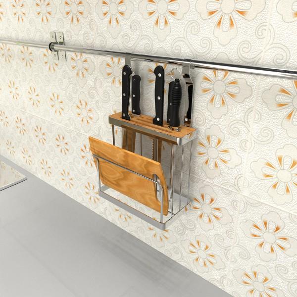 Baiying 2016 October New Design Kitchen Cutting Board Storage Rak ...