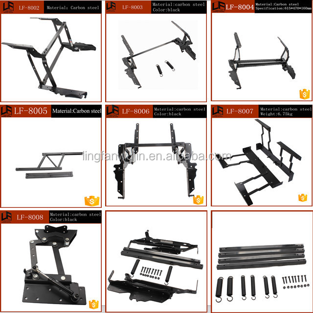 Top Quality Iron Extending Table Lift Up Mechanism Gas Lift Top Coffee Table Mechanism