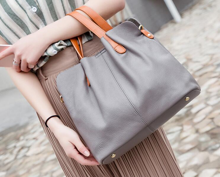 20301f0a67 Amazon Hot Selling Women Soft Leather Top-handle Handbag - Buy Soft ...