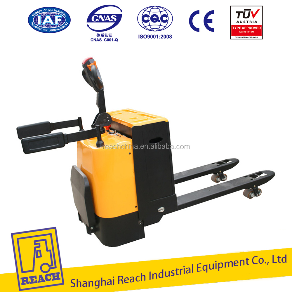 Good quality cheapest price 1.5ton electric pallet trucks handler