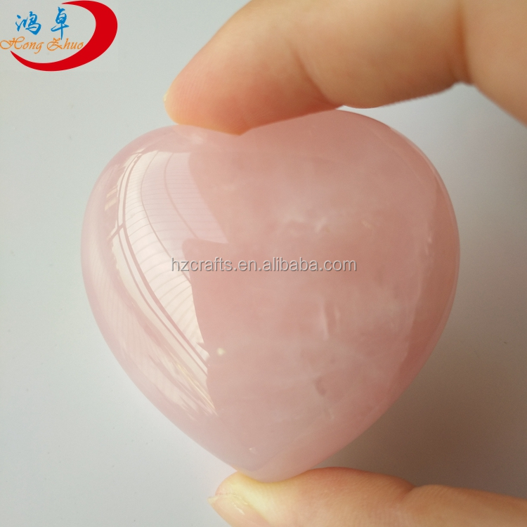 2017 hot style buy heart shaped rocks pink crystal heart geode pink crystal heart geode