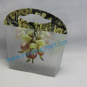 small plastic packaging box for business card
