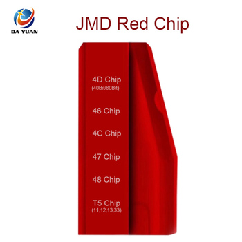 DY120727 JMD Red Chip for Handy Baby Key Programmer for 4C 4D 46 48 47 T5 Chip