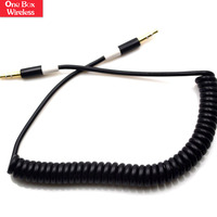 New Products Super 1M 3.5Mm Stereo Audio Cable Adapter M/M For Headphone For Aux For Mp3 For Ipod For Pc