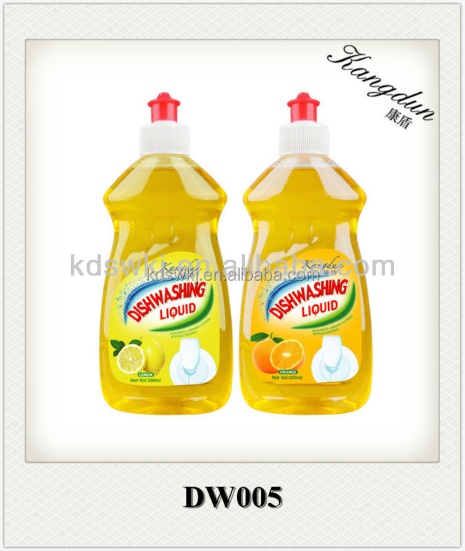 thick Washing Liquid 350ml useful in dishes fruit and vegetables