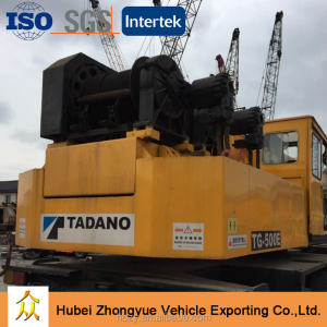 Nissan Diesel Used Tadano 50 ton Truck Mobile Crane TG500E for sale