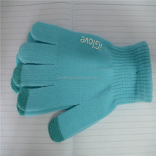 Customized Plain colors Touch screen Gloves