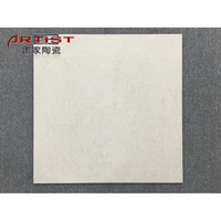 Porcelain Tile Lightweight Artificial Stone beige Tile small hole on surface