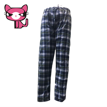 Flat Lounge Ultimate Sleep Pants Brushed Cotton Mens Flannel Pajamas Sheets Plaid Men Flannel Pants