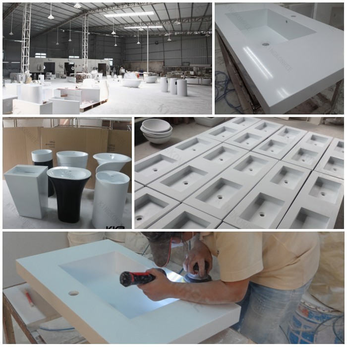 Solid Surface Wash Bowls,solid Surface Trough Sink,solid Surface Bathroom  Sink