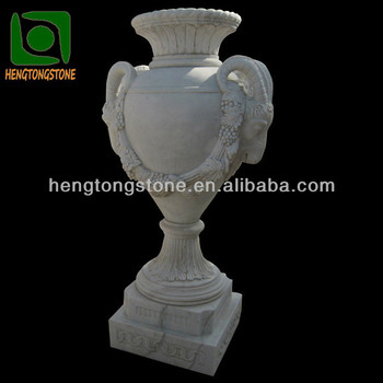 Large Outdoor Decoration Natural Stone Vases Buy Outdoor