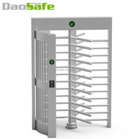 DaoSafe RFID Full Height Turnstile Price With Fingerprint Zk Access Controller
