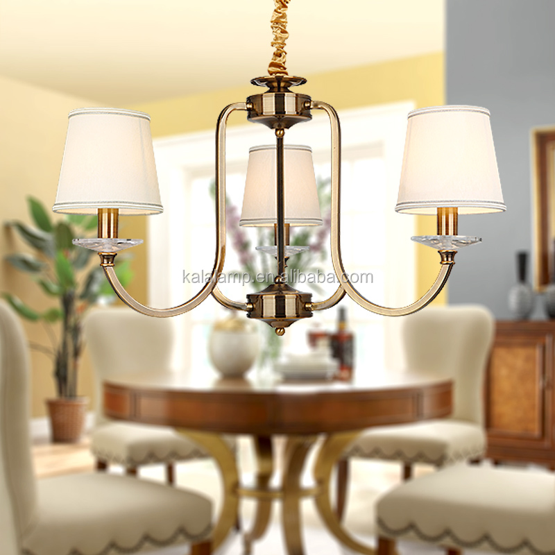 3 Light crystal ceiling chandelier lamp, chandelier lamp shade
