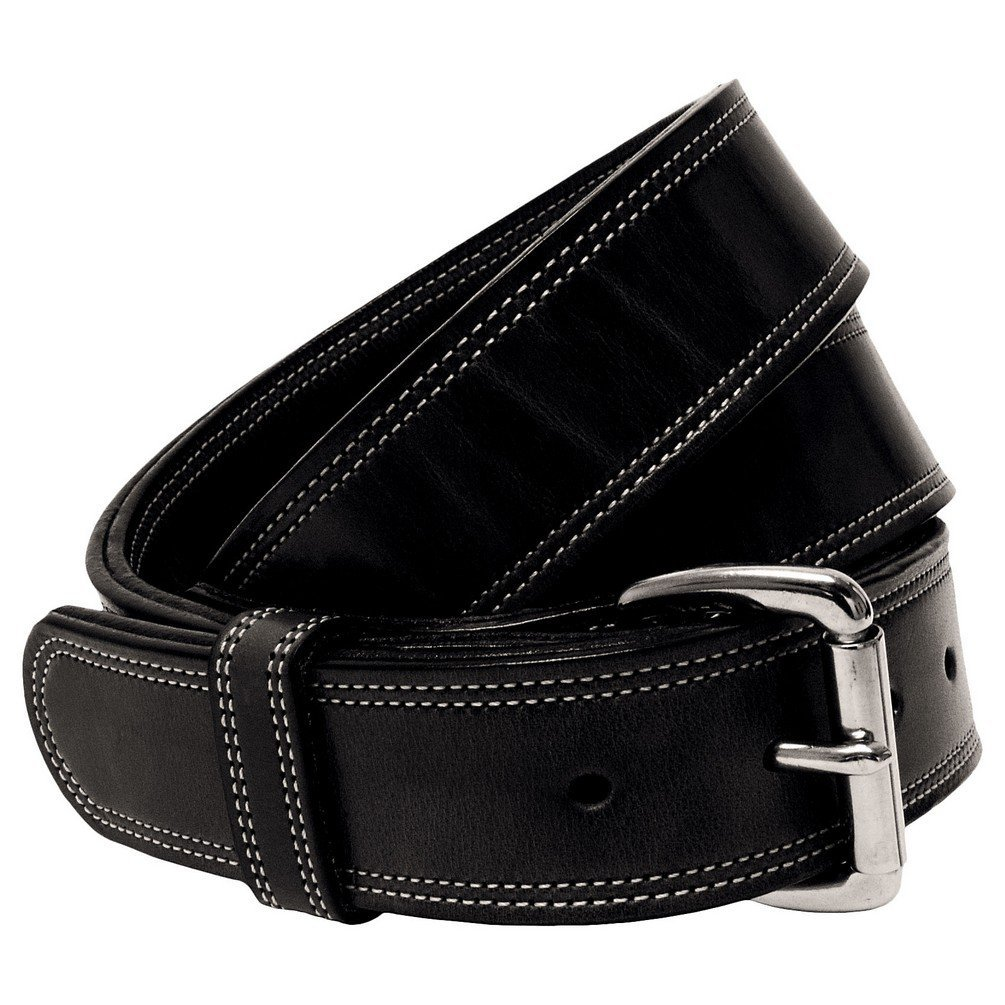 "Hanks Premier CCW Belt - 18 Ounce DOUBLE THICK LEATHER Concealed Carry Gun Belt - 1.5"" USA Made - 100 YEAR WARRANTY"
