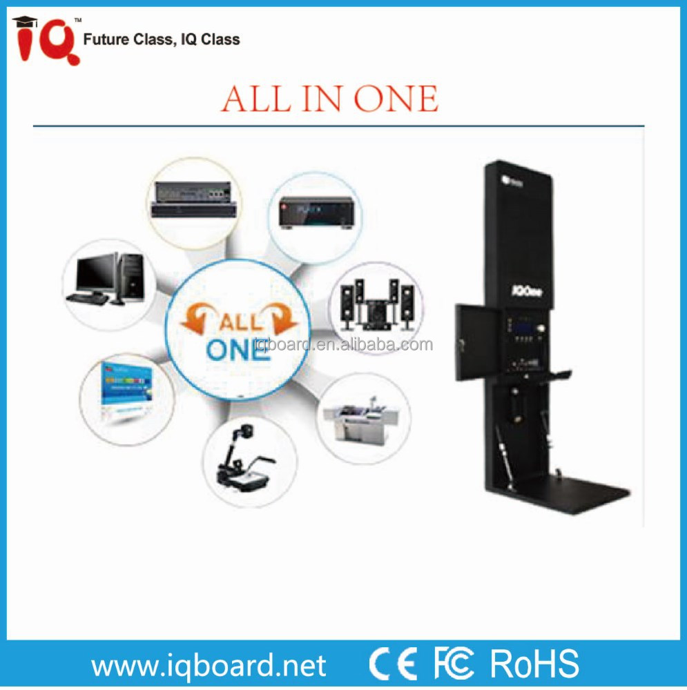 IQOne education all in one multimedia central controller system for classroom