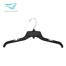 Export generic black plastic clothes hanger