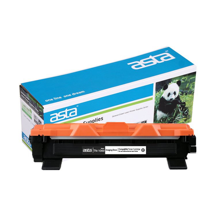 ASTA toner jato de Laser do cartucho de toner Compatível para Brother TN-1000/1030/1075 tn1000
