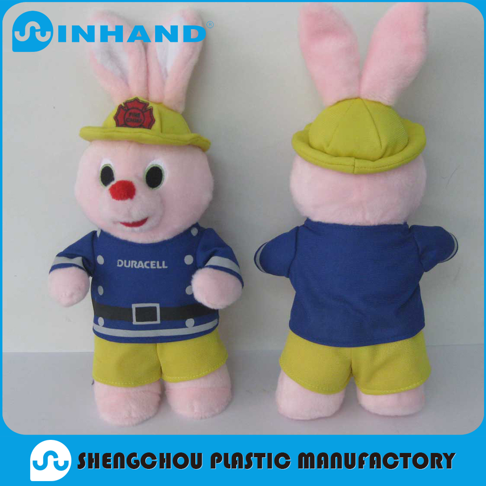 Excellent quality low price custom plush toy pink bunny soft toy