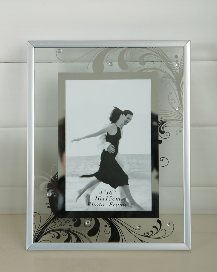 Bulk Cheap Glass Painting Picture Frame 4x6 5x7,6x8 With Black Paper ...