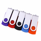 High Speed Swivel Twister USB 3.0 Flash Drive with Personalized Logo 4GB 8GB 16GB