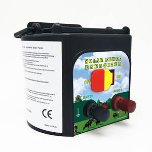 0.15J Solar Electric Fence Energizer for cattle 5Km fence length