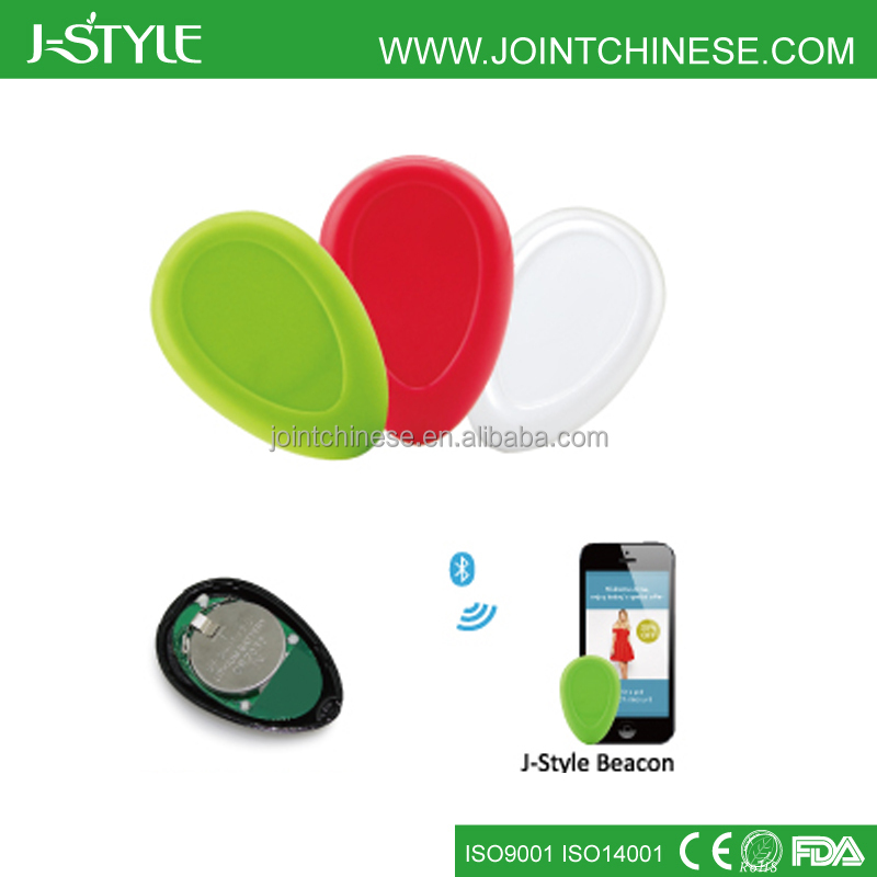 J-Style Low Engergy Smart BLE 4.0 uuid programmable ibeacon bracelet with different color option
