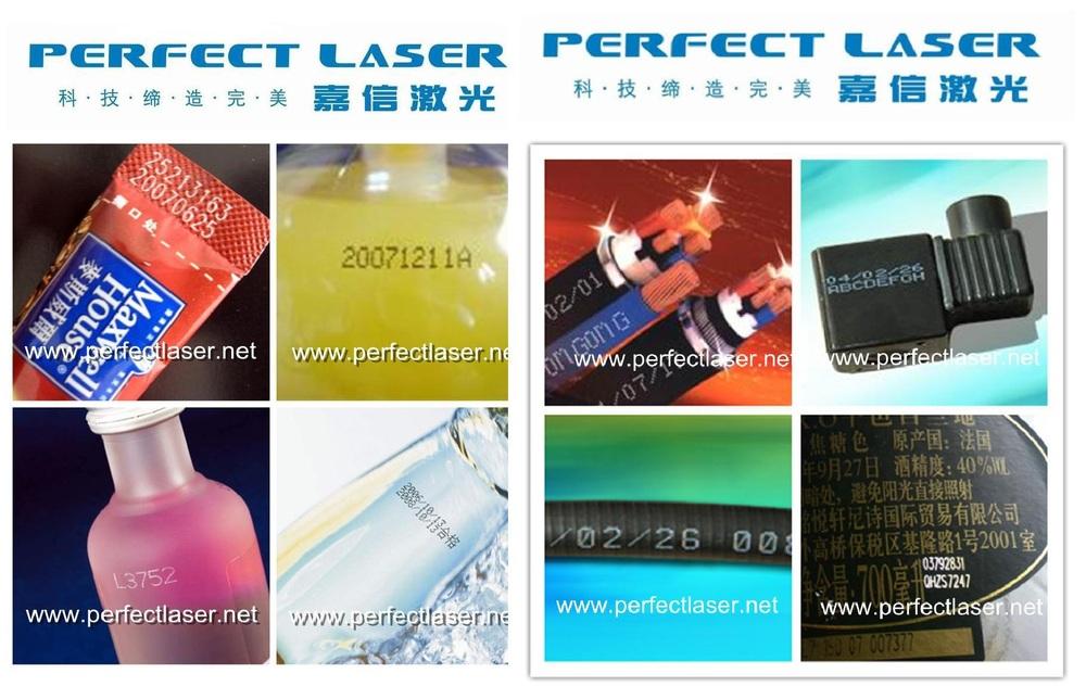 Co2 Laser Coding Machine Expire Date Printer Bar Code Batch Number ...