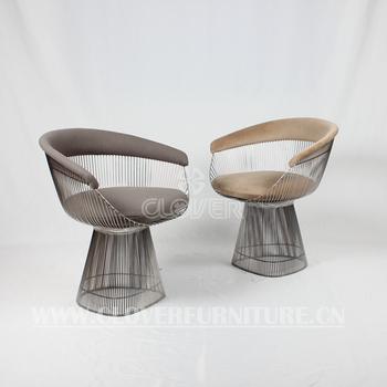 100 replik platner stuhl draht edelstahl stuhl - Stuhl Replik
