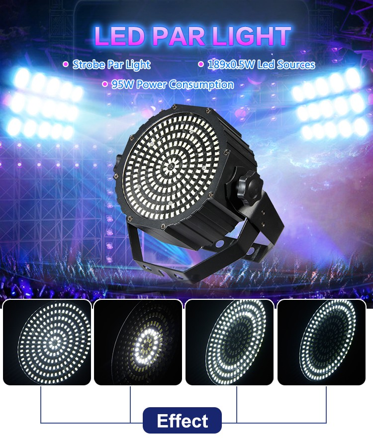 cheap super beam led par zoom stage light for disco show