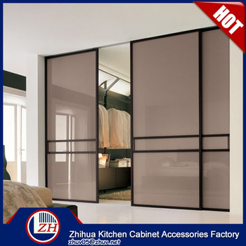 Laminate Bedroom Wardrobe Designs Sliding Wardrobe Door