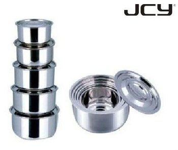 10 Pcs Stainless Steel India Stock Pot