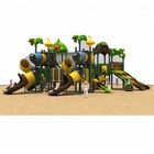 preschool equipment outdoor kids plastic slide quality plastic extra long slid product structure for kids playing areas HFC006-1