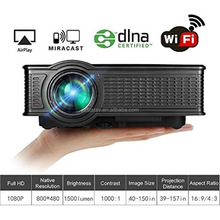 OWLENZ 1500 Lumens SD60 Mobile phone LCD Portable Home Theater Projector HDMI VGA USB PC RGB better than uc 40 uc46 wifi Beamer