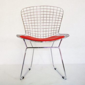 Harry Bertoia Side Chair Reproduction Knoll Berroia Wire Side Chair