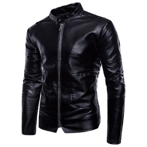 Top Sale Waterproof Men Black Beavers Leather Jackets Coat