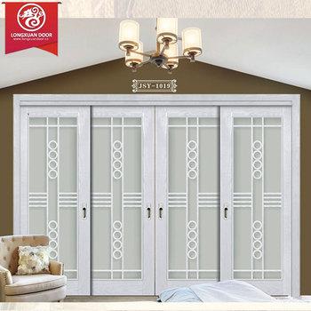 Schiebetür außenbereich  Sitte Weiße Farbe Wasserfest Mdf Composite Holz Schiebetür,Innen ...