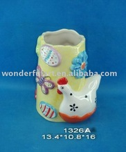 popular ceramic everyday chicken vase decoration