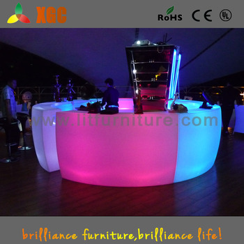 LED Lighting Bar Chair/garden Outdoor Furniture Led/bar Tables And Chairs  For Sale