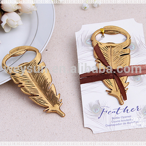 Peacock feathers Bottle opener Wedding Favors and gifts elegant Wedding supplies Party Favors Guests gift box Giveaways