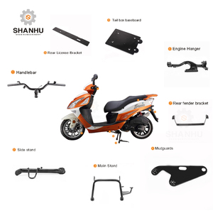 Custom OEM motorcycle spare parts for chinese taiwan kymco, vespa, sym