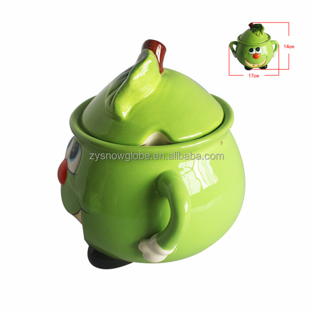 Artistic Fruit Shape Ceramic Cup For Decoration