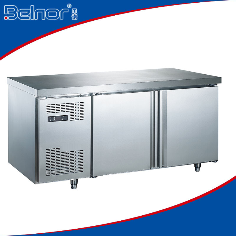 Tc0 3l2w 2 Doors Stainless Steel Under Counter Chiller