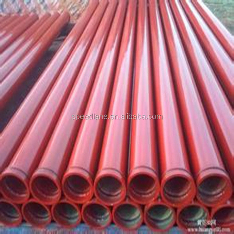 Hot sale Concrete machinery ,Concrete Boom pump spare parts straight Pipe for sale