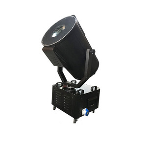 Outdoor sky rose moving head high powerful sky beam 2000w/3000w/4000w/5000w ip65 searchlight for sale