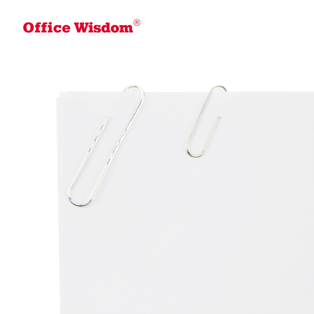 Best price office stationery paperclip custom different kinds metal paper clip