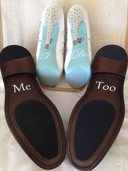 2016 Hot New Wedding Shoe Stickers Decal Quoti Doquot