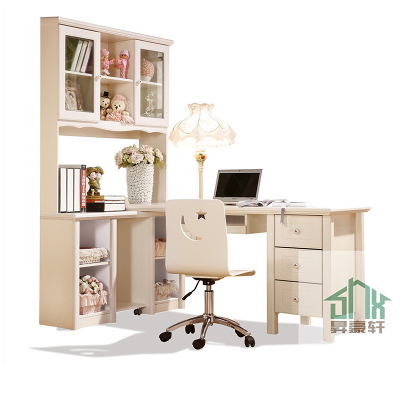 Latest Study Table And Chair Set Ha-b# White Child Study Table And ...