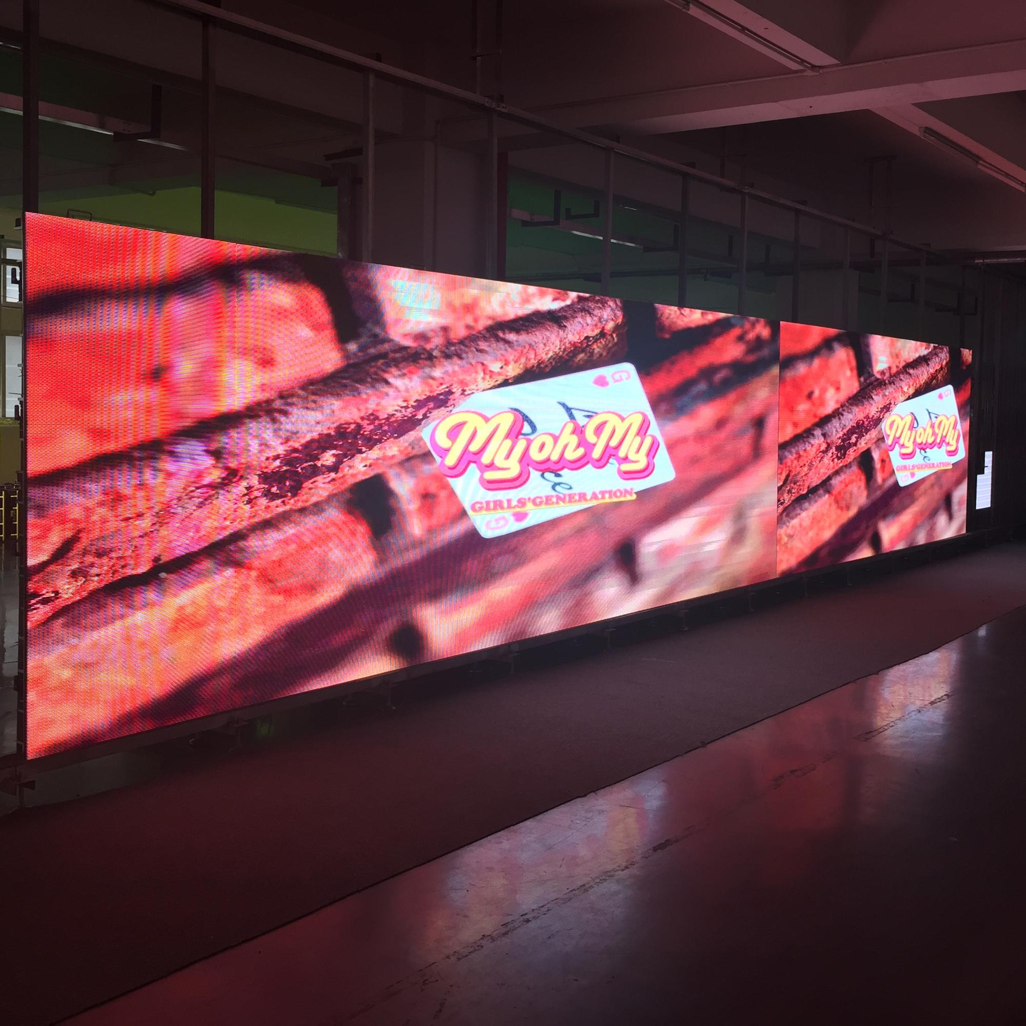 p6 indoor rental led screen for for airports, ports, stations