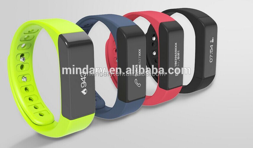 i5plus fitness tracker&band with touch panel, steps calories caller id, and message text display