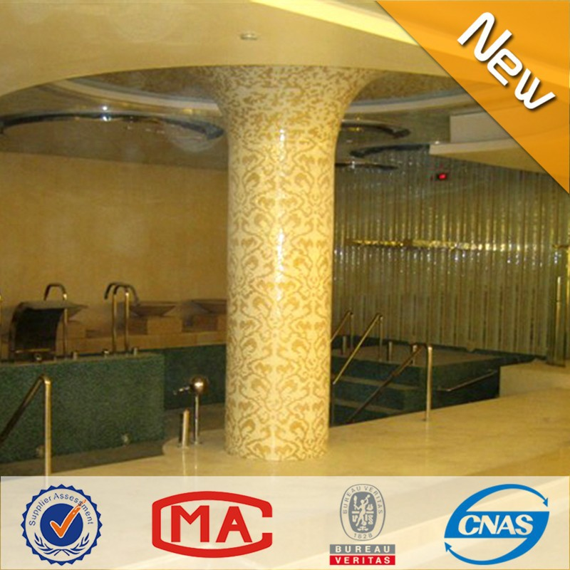 Jy p d01 color oro mosaico di vetro foto puzzle di pareti decorate ...